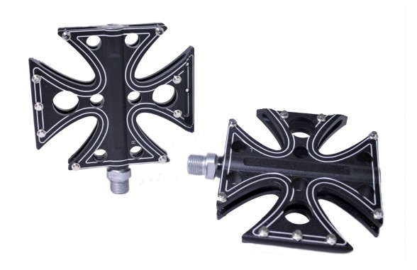 Iron / Maltese Cross Pedals