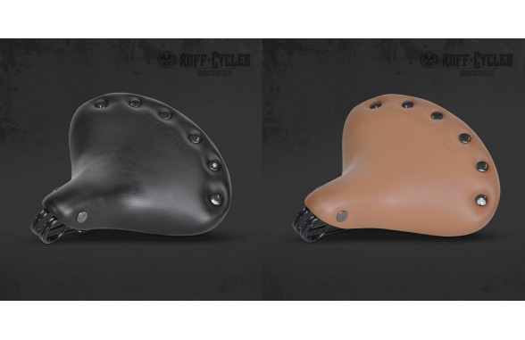 Stockman Leather Seat Black /  Brown