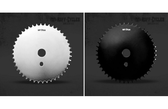 Chain Wheel Free 44T CP/BLK