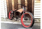 Kahaki Bikes Mr Bob Tank Kustom Kruiser build off !!