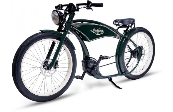 THE RUFFIAN e-Bike with Bosch / Vintage Green