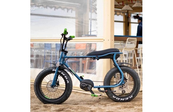LIL'BUDDY eBikes Bosch Active Line Plus / Blue_Green