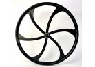 Front Wheel Magnesium 26 inch 6 Spokes with Disc Mount