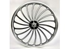 Front Wheel OPC 20 inch Jet Engine black silver with Disk mount
