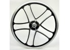 Rear Wheel OPC 20 inch I - Cross black silver with Disk mount free wheel