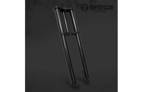 Ruff Straight Fork - Black