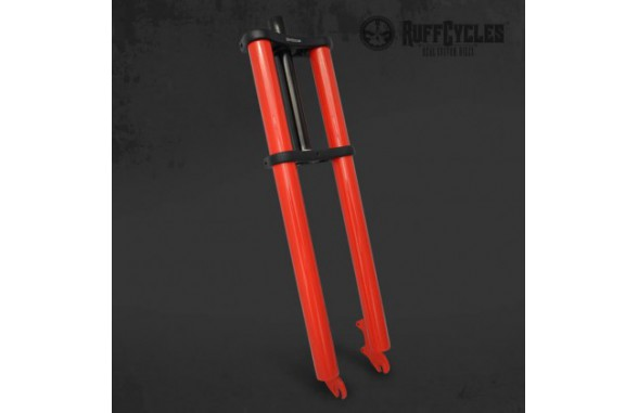 Ruff Straight Fork - Red