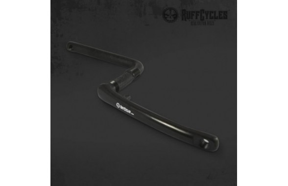 Ruff One Piece Crank Black