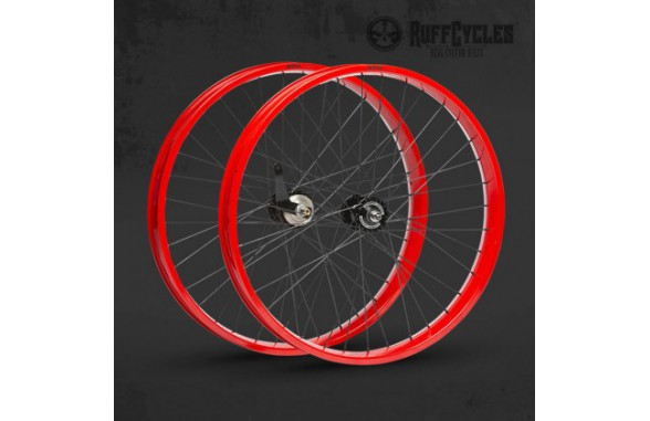 "Ruff Wheels Set 26"" 80 mm"